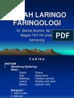Kuliah Laringo Faringologi (Dr Yitno)