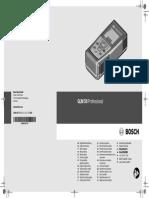 Telemetru GLM 50 Professional Manual 117747