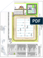 Layout Plan of Proposed Iswm Facility Dwg No 16 Model (1