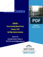 Advanced Ceramics (Presentation by Oak Ridge National Laboratory) 2003
