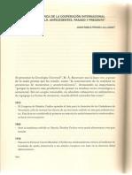 Cronología Cooperacion Internacional