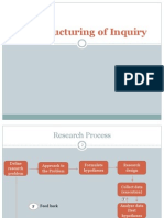 UNIT 2 - The Structuring of Inquiry