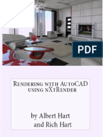 Rendering With AutoCAD Using NXtRender - Albert Hart