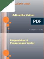 2- Aritmatika Vektor