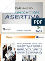 COMUNICACIÓN ASERTIVA