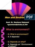 man and enviornment