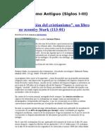 Cristianismo Antiguo. Judeocristianismo y Pablo Precristiano