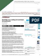 Datafolha Traça Ranking Da Insatisfação Dos Paulistanos - 12-07-2014 - Cotidiano - Folha de S