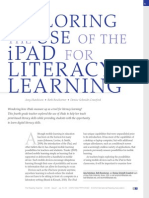 Exploring the Use of the iPad for Literacy Learning