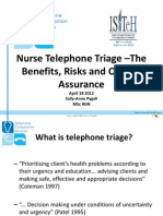 Nurse Telephone Triage
