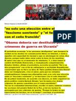 Noticias Uruguayas 11 de Julio Del 2014