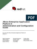 JBoss Enterprise Application Platform-6-Administration and Configuration Guide-En-US