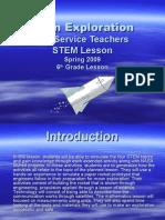 Moon Exploration Powerpoint ppt