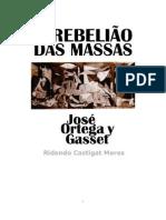A rebelião das masas - Ortega y Gasset