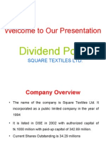dividend policy.final