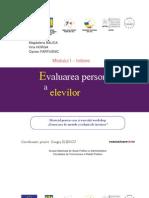Evaluarea Personalizata a Elevilor