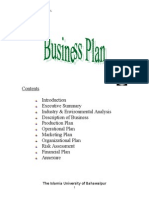 19213008 Business Plan of Hospital