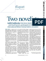 Jerusalem Rreport Article