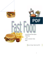 referat despre fast food