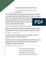Top 20 UNIX Interview Questions