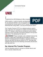 Unix_linux Ftp Cmds