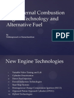 New Internal Combustion Engine Technology, Alternative Fuel
