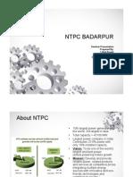 Ntpc Badarpur PDF