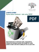 E waste System failure imminent