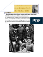 Der Königlich Sächsische Infanterie-Offizier-Säbel M.67.