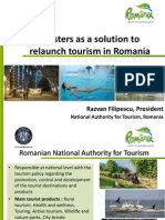 Clusters as a Solution to Relaunch Tourism in Romania by Razvan Filipescu