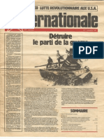 L'Internationale, No. 1, October 1983