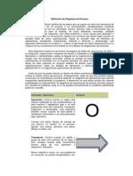 Definición de Diagrama de Proceso