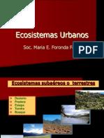 Ecosistemas Urbanos