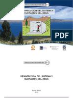 Manual 6 Desinfeccion Del Sistema y Cloracion Del Agua