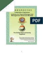 PROSPECTUS-2008 of glopal open university