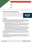 FYI 2014 0306 IRS Iss Final ACA Report Regs