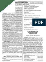 Ley 28427 Montos Palmas