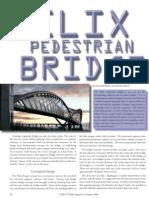 F Helix Pedestrian Bridge October04 v1