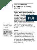 Pages 01-06 Acupuncture for Frozen Shoulder
