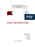 Caso Hard Rock Cafe