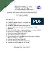 PROVA_QUIMICA_seleção_mestrado_2009_2.pdf