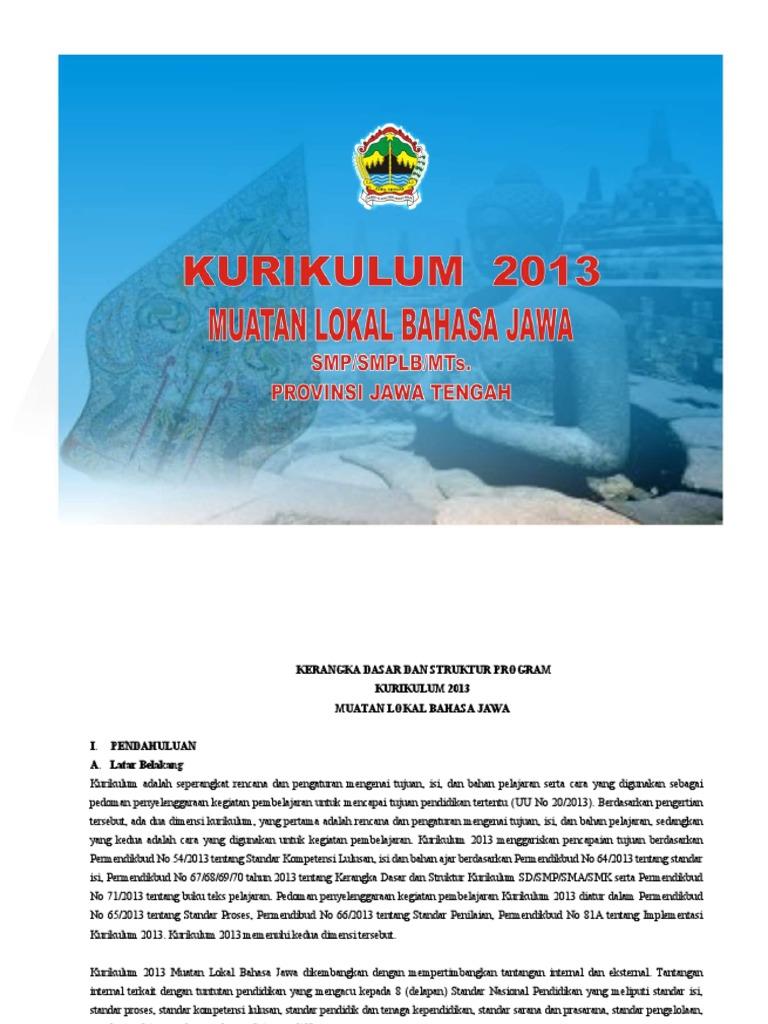 Materi Bahasa Jawa Kelas 8 Semester 2 Kurikulum 2013 Guru Galeri