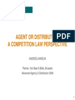 Agent or Distributor- A Competition Law Perspective
