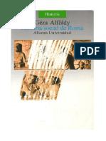 Alföldy, Géza - Historia Social de Roma.es.Pt
