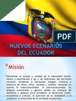 Nuevos Ecenarios Del Ecuador 2