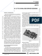 SSB DRIVER DESIGNS