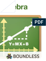 Algebra - Boundless
