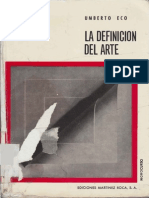 Eco Umberto - El Problema de La Obra Abierta 1958