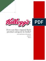 Kelloggs Consumer Behaviour