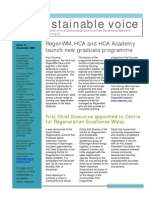 Sustainable Voice Newsletter - November 2009